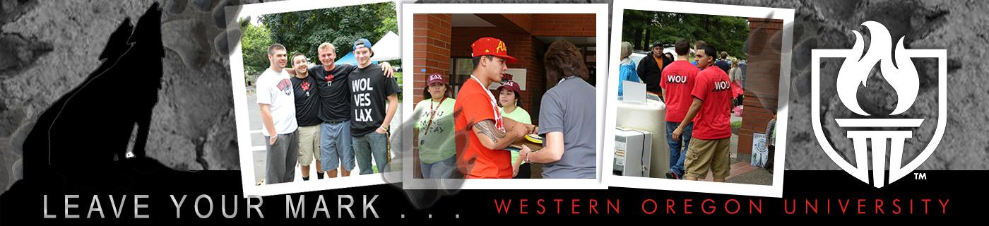 Leave Your Mark - Western Oregon University