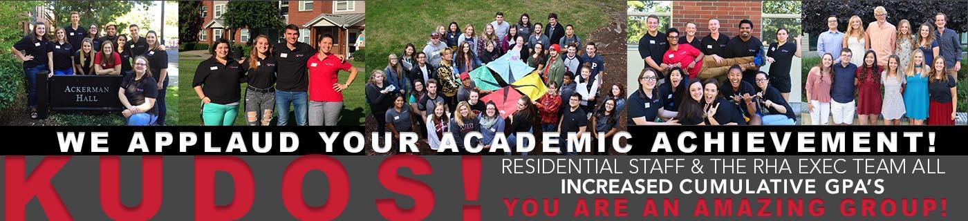 We applaud your academic achievement!