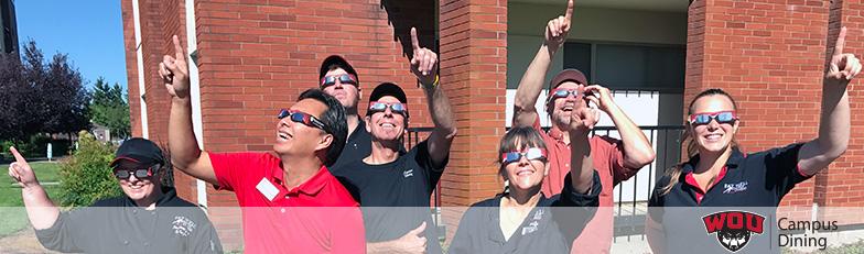 Eclipse at Western Oregon University 2017