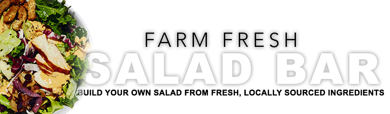 Salad that you build to taste from fresh and locally sourced ingredients!