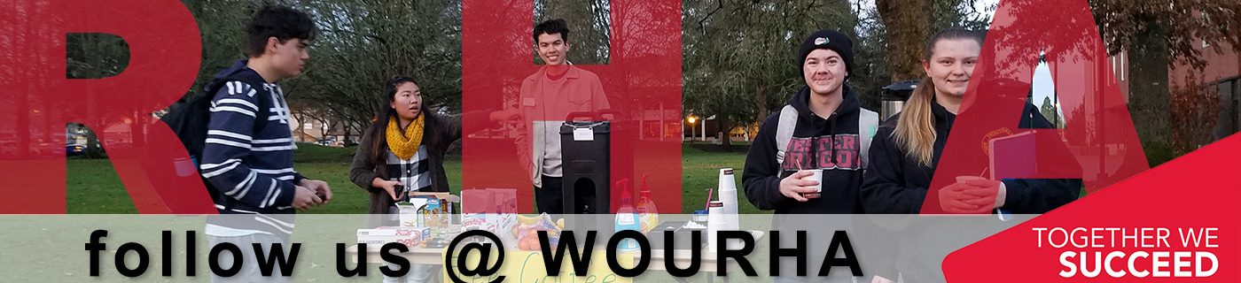 Follow the Residence Hall Association @ WOURHA