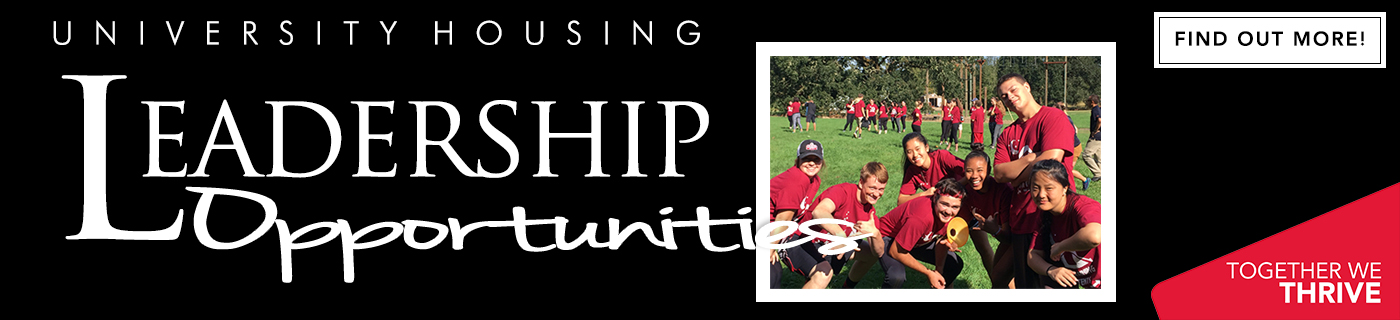 Leadership and Opportunities with University Housing