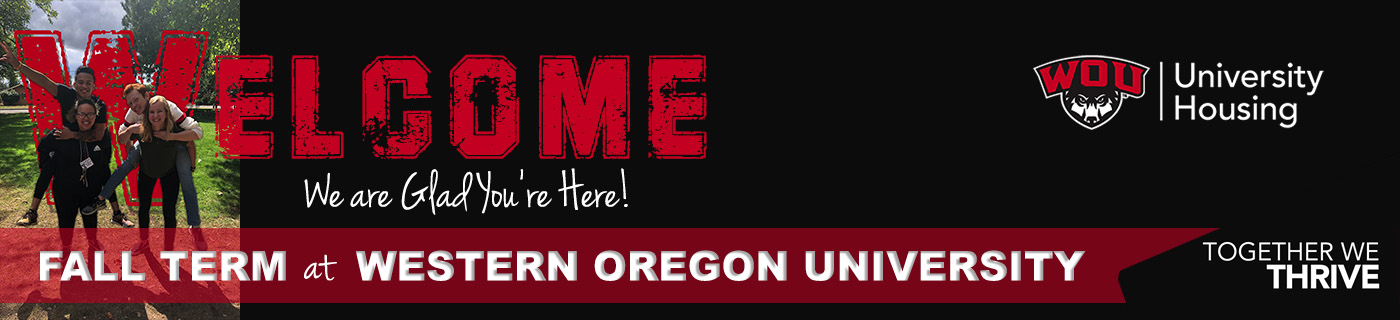 University Housing Welcomes You to Western Oregon University
