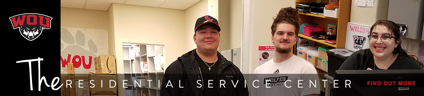 Find out more about The Residential Service Center at Western Oregon University