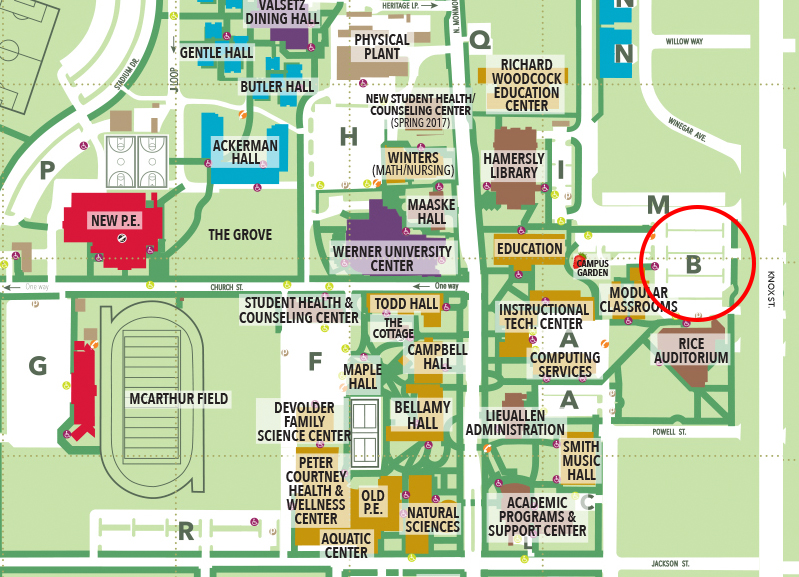 Wou Campus Map | Quality Map