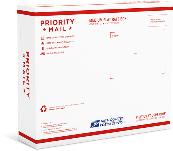 Usps Priority Flat Rate University Mail Services